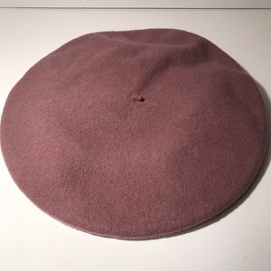 Lavender Beret Wool Hat Purple - Kangol